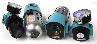 Wilkerson Filter Regulator L26-04-000 & Lubricator R16-04-00A, Lot Of 2 Each