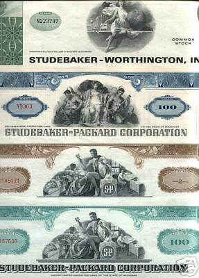 STUDEBAKER PACKARD COLLECTION All 6 KNOWN TYPES! Add STUDEBAKER proper for $9.99