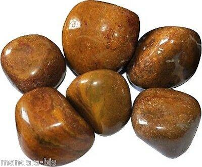 Stones Rolled AGATE BY CAMEO Set of 3 - Lithotherapy