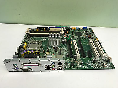 Hp Xw4400 442031 001 Motherboard With Tray And Core 2 Duo Cpu