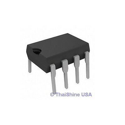5 x LM1458 HA17458 1458 DUAL COMPENSATED OPERATIONAL AMPLIFIER IC - USA Seller