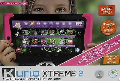 Kurio Xtreme 2 Special Edition System The Ultimate Tablet Built for Kids - Pink