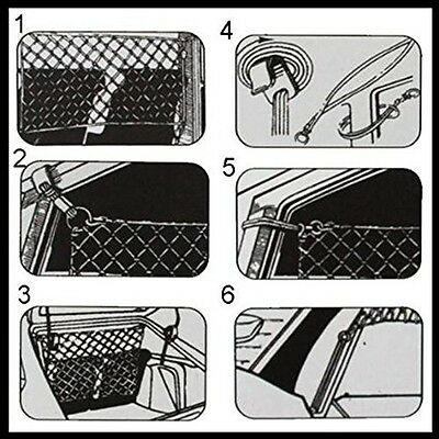 NEW Car Safety Net Hatchback Dog Guard Barrier Protector for Dogs Cats Pets