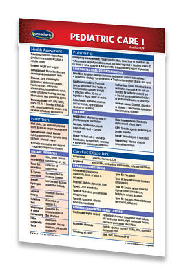 Pediatric Care I - Medical Pocket Chart Quick Reference guide