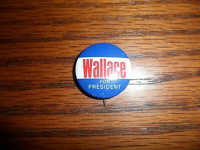 Wallace for President political pin