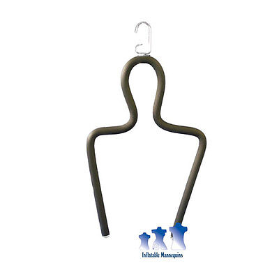 Hanging Rubberized Shirt Display Form
