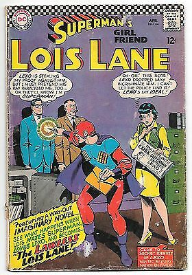 Superman's Girl Friend Lois Lane #64 (1966; gd-vg 3.0) 50% off price guide value