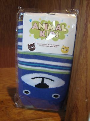 Hello & Baby Animal Kids 1 Pair of Socks (Color May Vary)