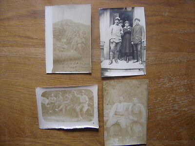 1916 Photos anciennes SOLDATS militaria SOMME tranchee WWI