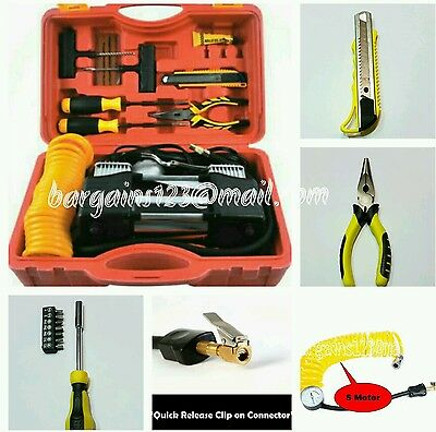 Heavy Duty Portable 12V Tyre Inflator/compressor