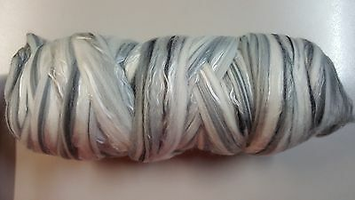 Ashford Tencel & 22 Micron Merino Sliver Undyed 500g for Spinning or Felting