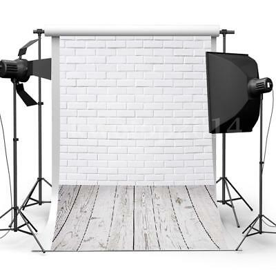 3x5FT Brick Wall Floor Photography Backdrop Photo Background Studio Props NEW