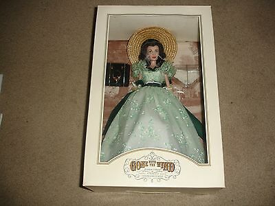 Gone with the Wind Scarlett O'Hara Vinyl Doll by Franklin Mint