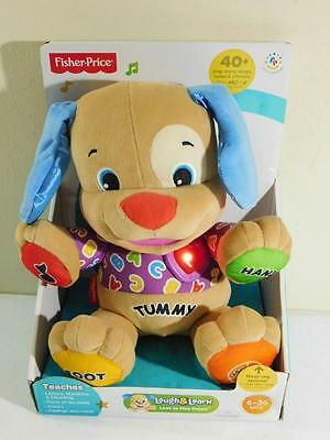 Fisher Price Laugh & Learn Love To Play Puppy Songs, Games, Numbers, Letters NIB