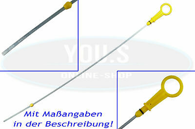 1x OIL DIPSTICK MEASURE 484mm FOR 1.5 DCI RENAULT CLIO KANGOO 2 8200666280