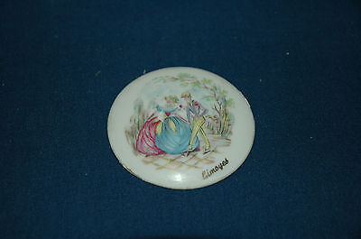 Vintage Limoges Loose Cameo, Made in France