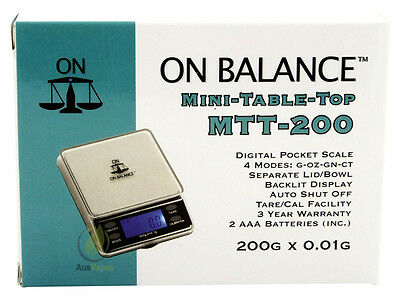 Mini Table Top Scale -Gold-Metal Detecting