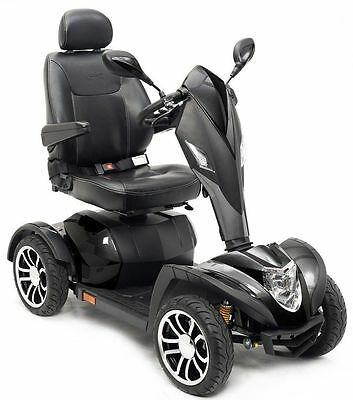 Cobra GT4 Heavy Duty Mobility Scooter with 20 INCH CAPTAIN SEAT, 4 WHEELS