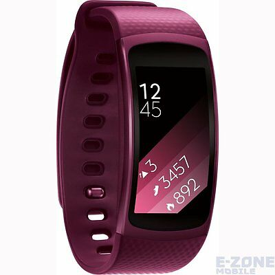Samsung Gear Fit 2 Small Size Pink R360 Unlocked Smart Watch