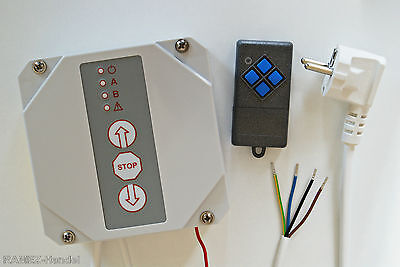 RTS-16 SET Rolling gate control with radio 868 MHz Hand transmitter by Dickert