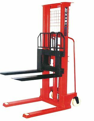 Hand Stacker Forklift 1 Ton 1.6 Meter CtyD  Hydraulic Lifter Pallet