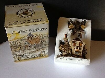 Boyds Bearly Built Villages #19014 EMILY'S CARROT COTTAGE New Premier #786/2400
