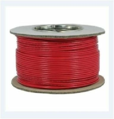 Tri-rated Panel & Conduit Cable 0.5mm² 22AWG 11Amp 600V Red