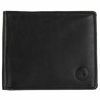 GENUINE Vauxhall Boxed Black Leather Wallet - VX157