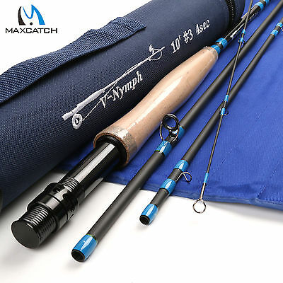 Maxcatch Nymph LW3 10FT 4Sec Fast Action IM10 Fly Fishing Rod For Dapping