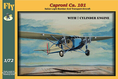 FLY 72013 Caproni Ca. 101 with 7-cylinder engines, 1/72