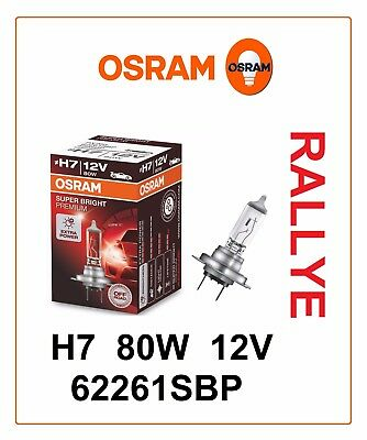 H7 62261SBP SUPER BRIGHT PREMIUM OFF ROAD RALLY 80W 12V OSRAM car Germany