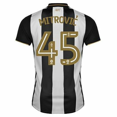 New Genuine Newcastle United 2016/17 Home Shirt MITROVIC 45 Adults XL XXL Reject