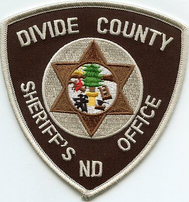 Divide County North Dakota Nd Sheriff Police Patch