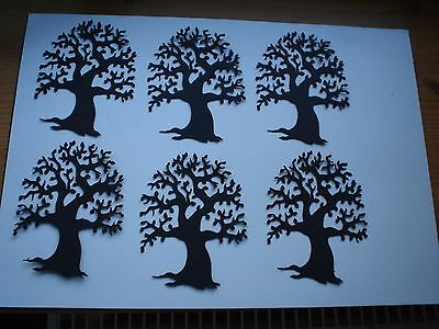 Beautiful tree silhouette toppers