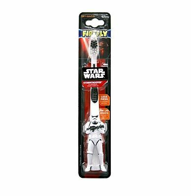 Firefly Star Wars Soft Toothbrush Age 3-6 Storm Trooper Handle 1 2 3 6 Packs