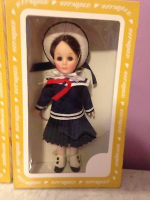 """VINTAGE EFFANBEE DOLL GiGi SCHOOL GIRL THROUGH THE YEARS COLLECTION 12"""""""