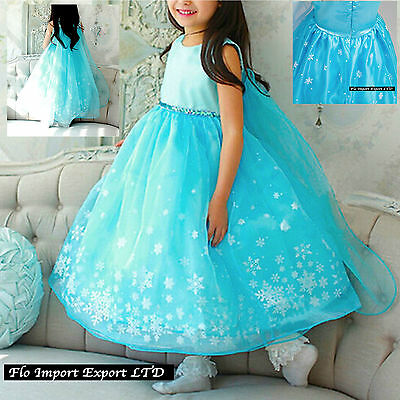 Frozen Vestito Carnevale Costume Elsa Dress up Elsa Cosplay Costumes 789056