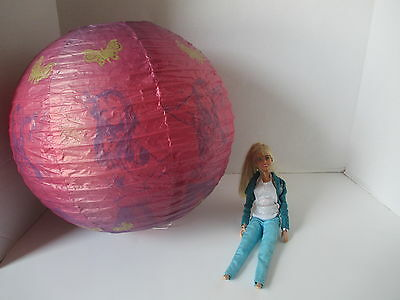 Hannah Montana Doll In Concert Old Blue Jeans + Hannah Montana Paper Lantern
