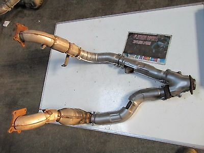 Subaru legacy b4 bh5 be5 twin turbo exhaust down pipe cat pair (2
