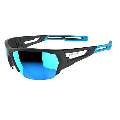 New Ski Sports Running Cycling Sunglasses Kalenji 700 Blue Cat3 Flexible