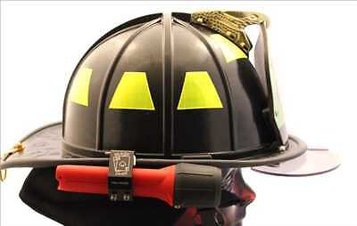 NEW Full House Firefighter Helmet Aluminum Flashlight Holder