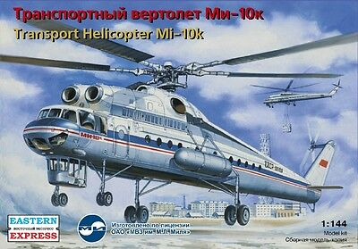 EASTERN EXPRESS 14510 - Soviet Civil Transport Helicopter Mi-10K / Satz 1:144