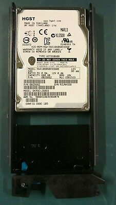 Qty 10 Hitachi Data Systems 600 GB 10000 rpm SAS HDD - 5541892-A