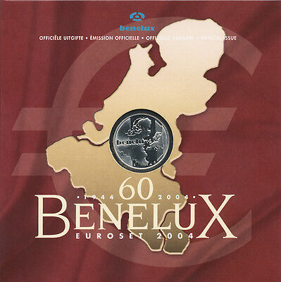 Benelux Staaten Euro-KMS 2004 (60 Jahre)