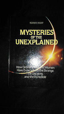 Readers Digest Mysteries Of The Unexplained Vintage Hardback Book (1988)