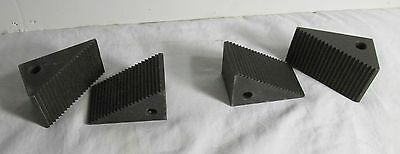 "Steel Step Block 1-1/2 to 2-1/2 1-1/2"" Wide, Northwestern Tools 4S 4 blocks"