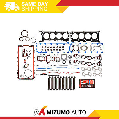 Fit 96-98 Ford Mustang Crown Victoria Mercury 4.6 Full Gasket Set Head Bolts