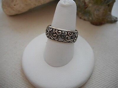 Carolyn Pollack Relios Cut Out Floral Band Ring  390218