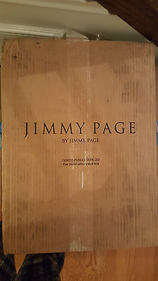 Jimmy Page Signed Genesis Publications Book Number 480 Mint Condition