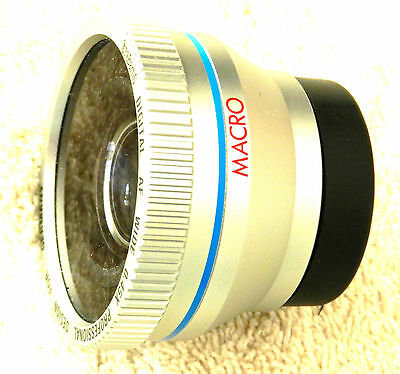 37mm Wide Angle Macro Conversion Lens for Video Cameras